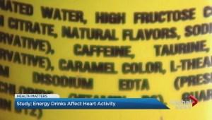 Energy drinks affect heart activity