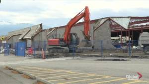 Former Sears location in Kelowna being demolished