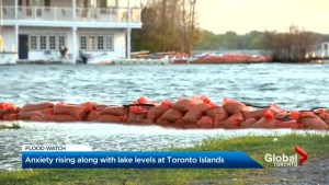 Residents of Toronto Islands concerned for rain, further flooding