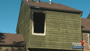 Edmonton family displaced by fire