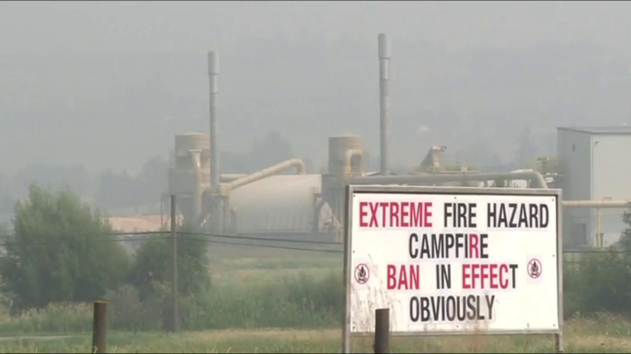 Wildfires prompt BC to declare state of emergency