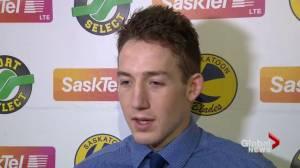 Edmonton Oilers sign Saskatoon Blades forward Cameron Hebig