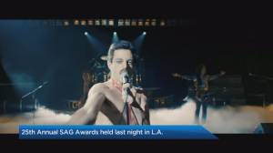 'Black Panther' reigns the SAG Awards, while 'A Star Is Born' disappoints