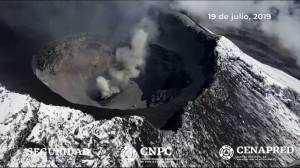 New crater found in Mexico's Popocatepetl volcano