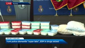 York Regional Police dismantle massive illegal meth operation