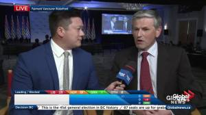 BC Election: Andrew Wilkinson, Liberal candidate in Vancouver-Quilchena, confident in jobs message