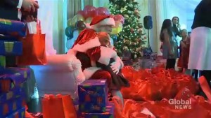 Ritz-Carlton hosts Breakfast with Santa