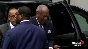 Bill Cosby arrives at Pennsylvania courthouse for sentencing