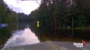 Thousands in South Carolina urged to flee ahead of flooding