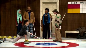 New Canadians hit the ice in Calgary curling comedy: 'Getting over each other's differences'