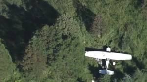 Small plane crashes near Langley golf course