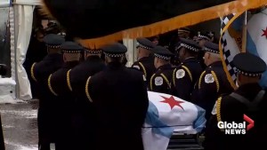Slain Chicago police officer laid to rest