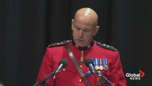 RCMP commissioner remembers fallen officers