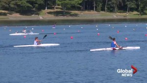 Dartmouth's Lake Banook showcased during Pan Am Canoe Championships