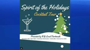 Spirit of the Holidays in Downtown Dartmouth