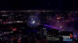 Edmonton New Year's Eve Fireworks
