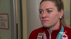 Natalie Spooner says silver in women's hockey 'tough pill to swallow'