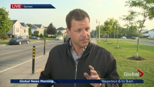 Pedestrian safety campaign in Vaudreuil