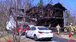 Fire tears through Hammonds Plains home