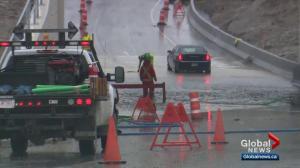 Heavy Calgary rainfall leads to flooding