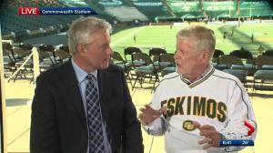 Gord Steinke talks to 630 CHED's Bryan Hall ahead of Eskimos home opener