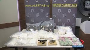 $1M worth of drugs seized from suspected Edmonton drug ring
