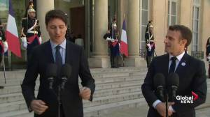Trudeau delivers remarks on tackling online extremism amid  'Christchurch Call' summit