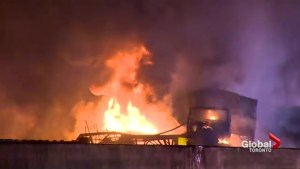 3 confirmed dead in fiery chain-reaction crash on Highway 400