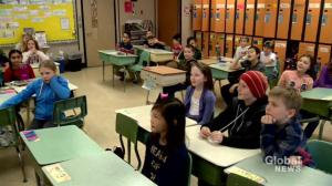 James L. Alexander School students have fascination for precipitation
