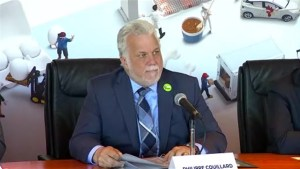Philippe Couillard not backing down on supply management