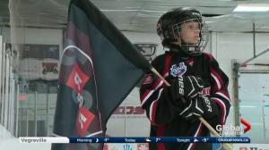 Ryder and Radek MacDougall honoured at memorial hockey game in Whitecourt