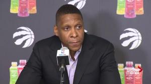 Raptors' Masai Ujiri talks 'difficult day' as coach Dwane Casey fired