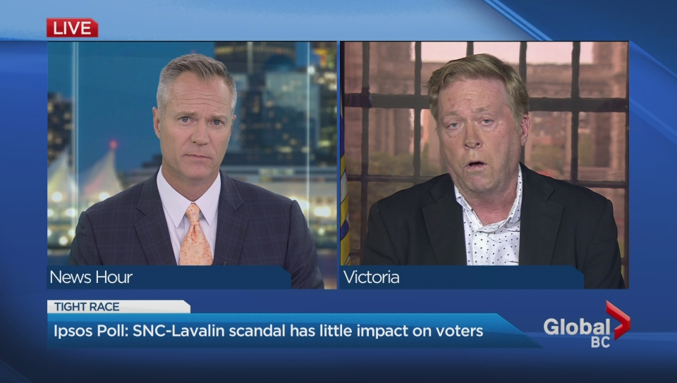 Ethics report on SNC-Lavalin has no effect on public support