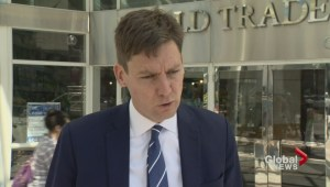 David Eby cancels town hall meeting