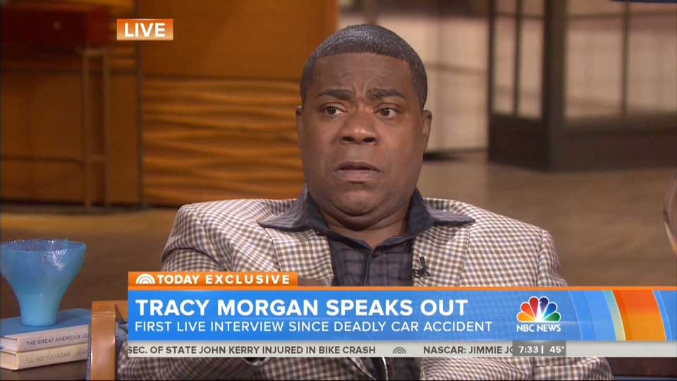Tracy Morgan gets in crash right after buying $2 million Bugatti