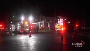 One person has been taken to hospital following Fire Sunday morning on Armour Road