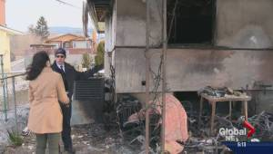 Penticton family loses father's ashes in house fire
