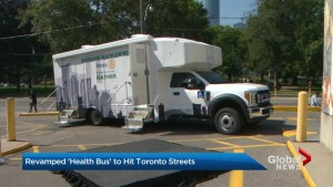 New health bus will hit Toronto streets this fall to deliver expanded services