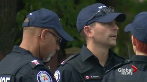 Toronto police wear baseball caps in protest over staffing concerns