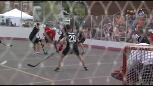 30 NHL stars will be joining Taylor Hall for his annual ball hockey tournament in Kingston (01:38)