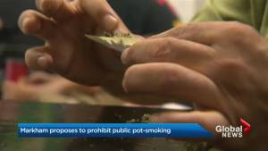 City of Markham lays out specific rules for cannabis smokers