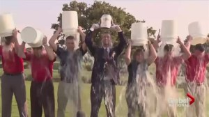 ALS charity 'ice bucket challenge' goes viral