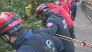 Rescue crews  in North Vancouver are ramping up their efforts to be ready in case of an outdoor emergency