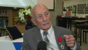 Durham veteran receives French Legion of Honour, country's highest recognition
