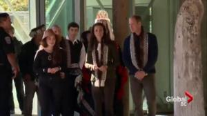 Prince William and Kate visit Haida Gwaii on their last full day in Canada