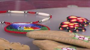 Pop-up school in Victoria reviving the traditional art of moccassins (04:56)