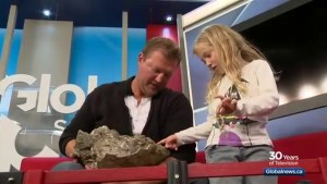 6-year-old Martensville girl finds big fossil near Lake Diefenbaker