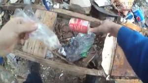 Shocking body camera footage appears to show Baltimore police officer planting evidence (01:43)