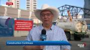 Play video: BMO Centre expansion continues despite 2019 Calgary Stampede