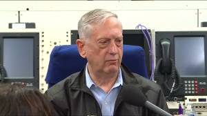 U.S. Defence Secretary 'can't say yet' if Olympics will lead to results with North Korea